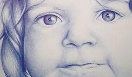 Votre portrait pour un cadeau de naissance
