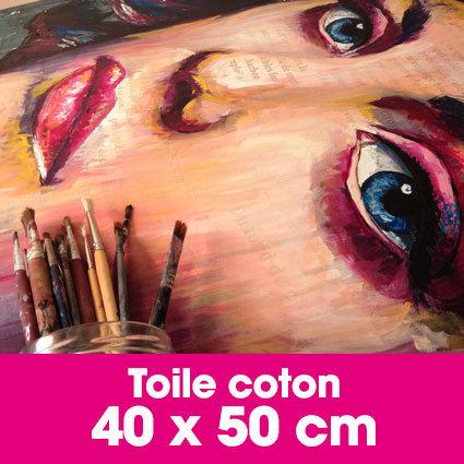 Portrait d'art Acrylique 40 x 50 cm