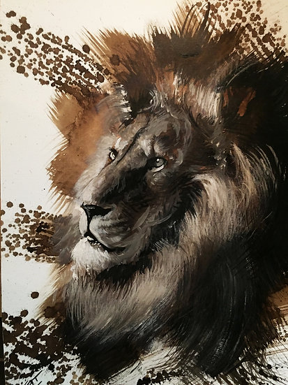 "Lion#03 - collection ""La beauté en voie de disparition"""