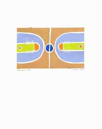 Basketball VI Painting