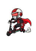 Hero Scooter logo art