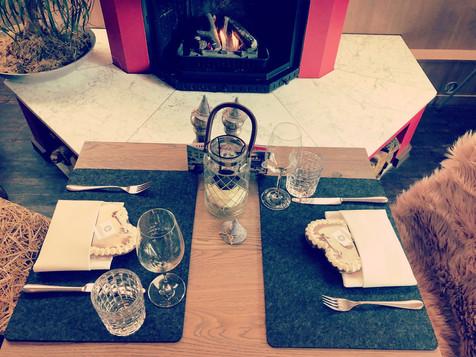 Tisch Kamin