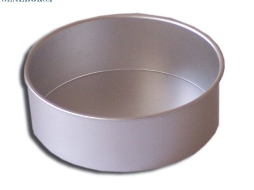 Molde cilíndrico en aluminio