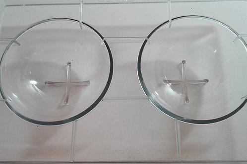 Semiesfera en policarbonato Ø 100 mm