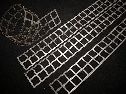 Molde deco acetato tira cuadrados