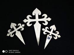 Cruz de Santiago en aluminio