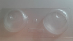 Molde individual manzana