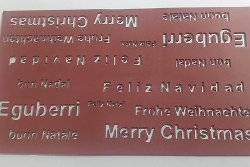 Tapete silicona Feliz Navidad