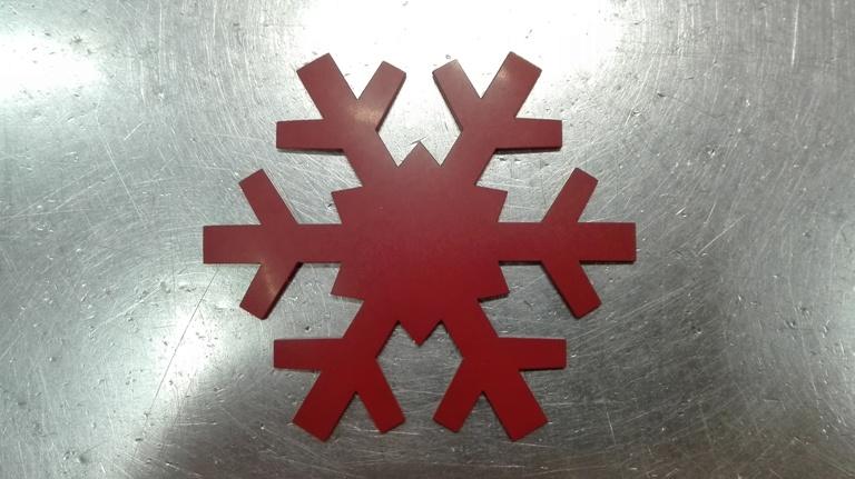 Copo de nieve 8 cm
