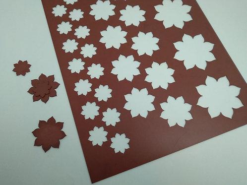 Xablón flor mandala