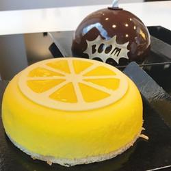 Molde deco acetato limón
