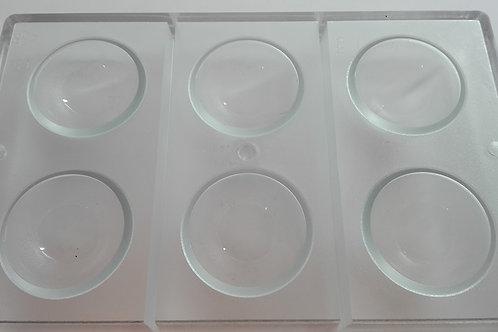 Semiesfera en policarbonato Ø 55 mm