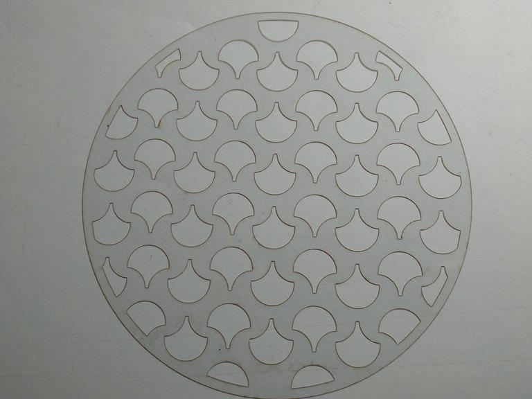 Molde deco acetato redondo modelo 1