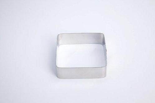 Aro forma cuadrado geo en inox