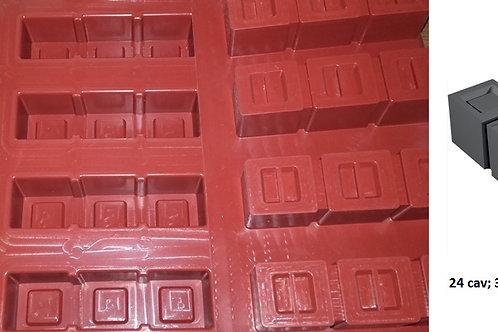 Lingot 3 carrés