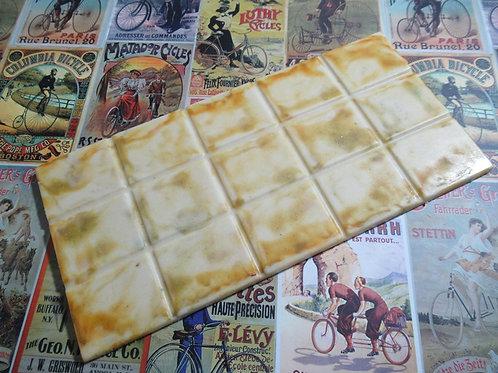 Tableta de chocolate cuadrados