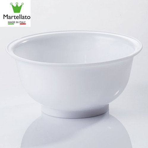 Bowl de polipropileno blanco