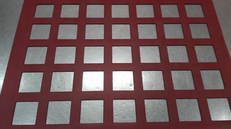 Chablón cuadrados