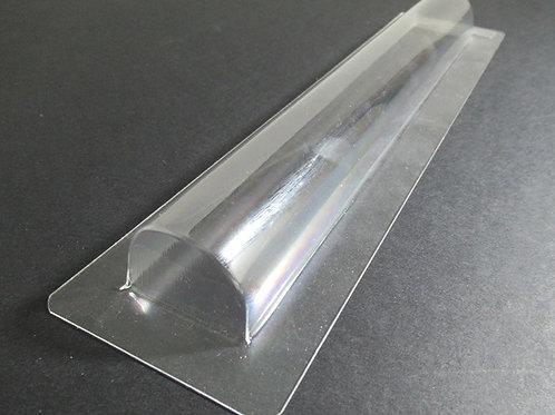 Molde turrón barra larga semicírculo