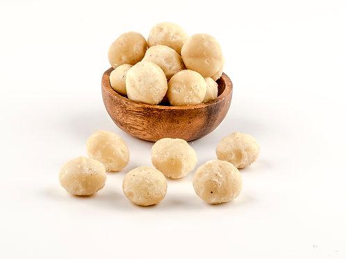 Macadamia crudas