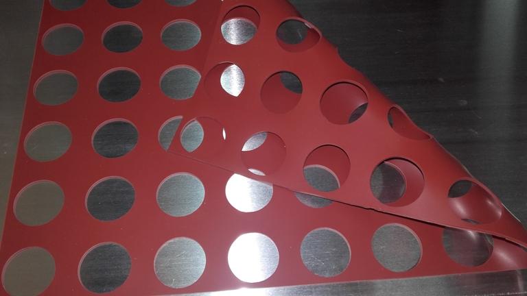 Chablón círculos de 3,5 cm
