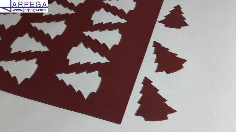 Chablón árbol de navidad pequeño