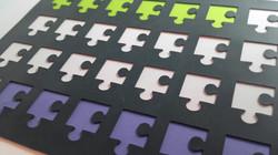 Chablón puzzle