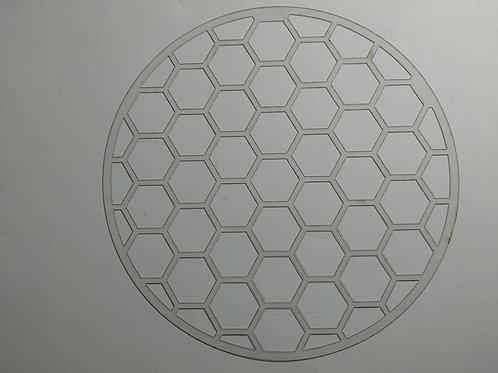Molde deco acetato panal de abeja
