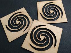 Stencil ESPIRALES