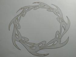Molde deco acetato corona