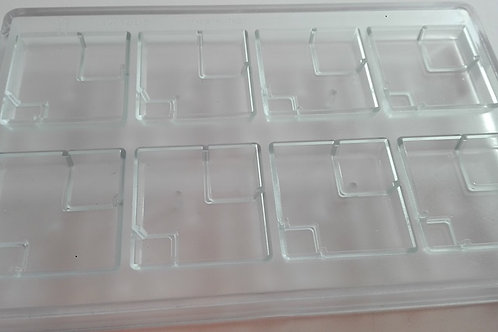 Molde tableta cuadrada