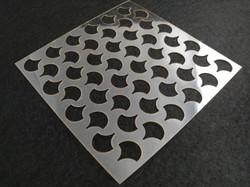 Molde deco acetato cuadrado modelo 1