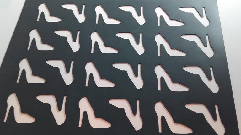 Chablón zapato de tacón