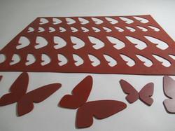 Chablón mariposas