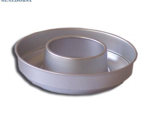 Molde savarín aluminio anodizado