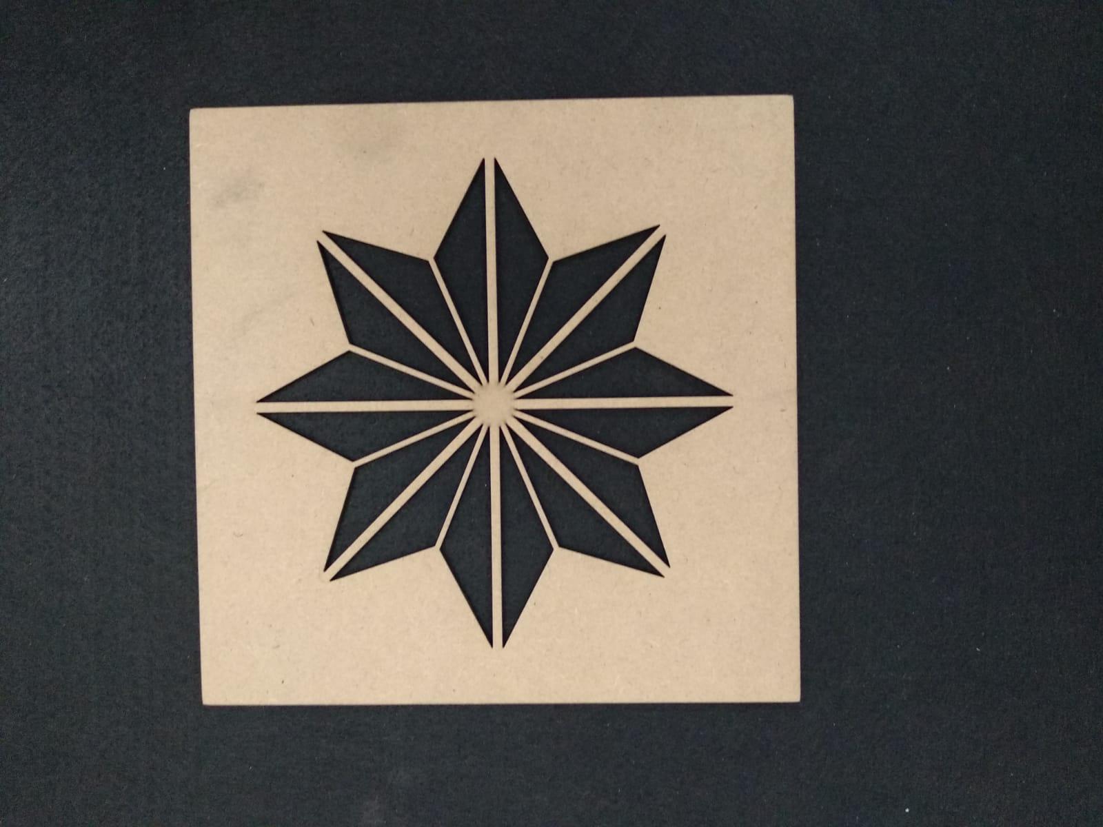 Stencil ESTRELLA