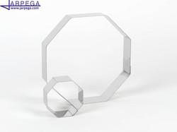 Aro forma octógono en inox