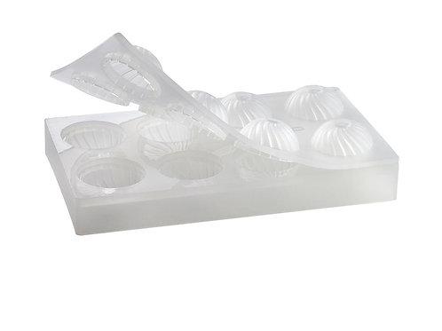 Molde 3D de 55 mm concha