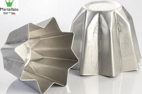 Molde pandoro en aluminio