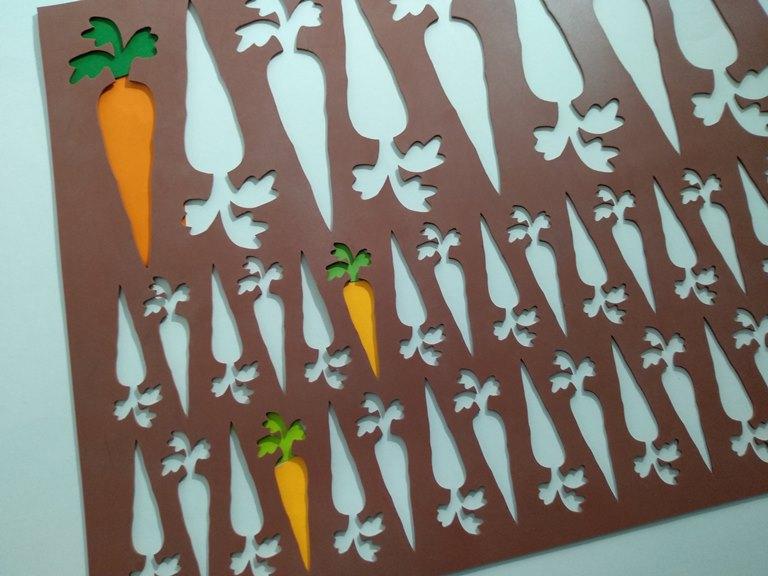 Chablón zanahorias