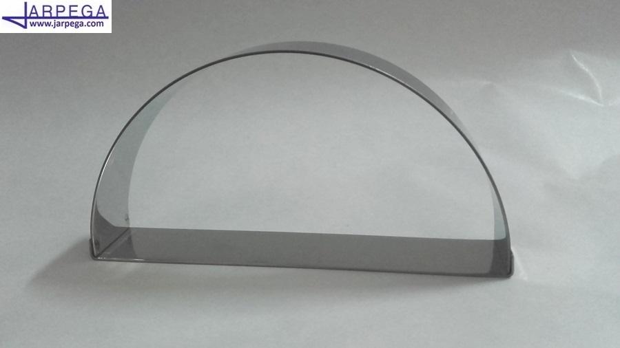 Molde forma medio círculo en inox