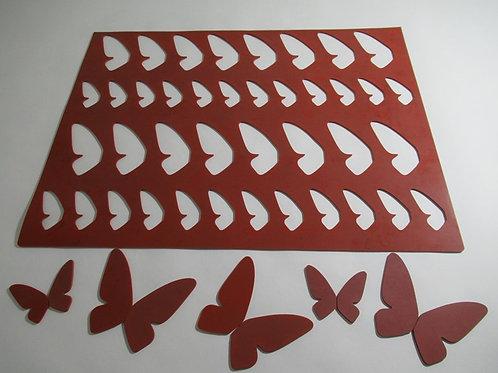 Xablón alas mariposa