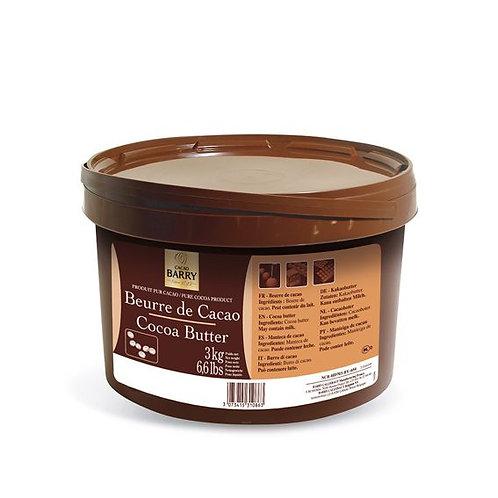 Manteca de cacao desodorizada
