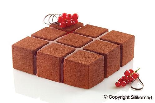 Molde tarta Cubik