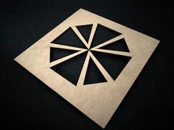 Stensil cruz