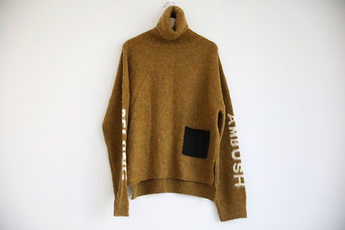 Ambush Mohair Turtleneck Sweater