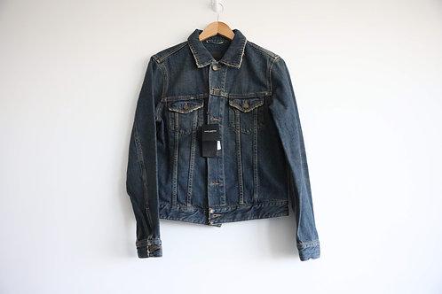 Saint Laurent Navy Classic Denim Jacket