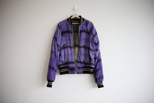 Amiri Reversible Silk Jacket