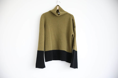 Haider Ackermann Embroidered Mohair Turtleneck Sweatshirt