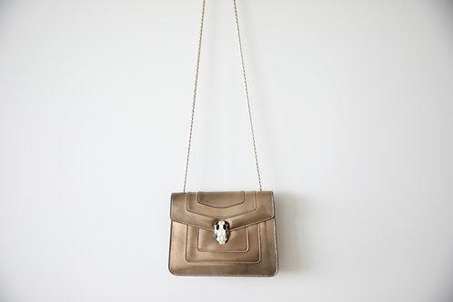 Bulgari Serpenti Patent Leather Shoulder bag